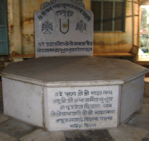 Place of Tilaka